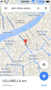 Looking for a Yarn Shop in Venice, Italy