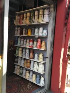 Antique Coffee Pots  at the Paris Flea Market