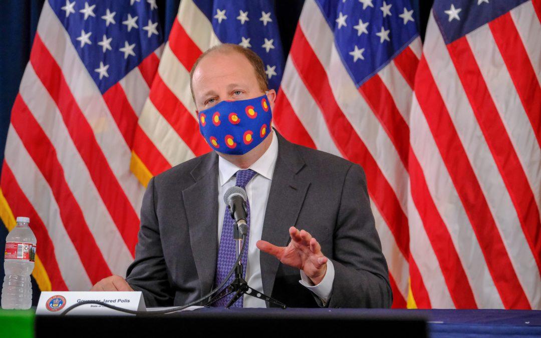 Colorado Gov. Polis announces statewide mask mandate