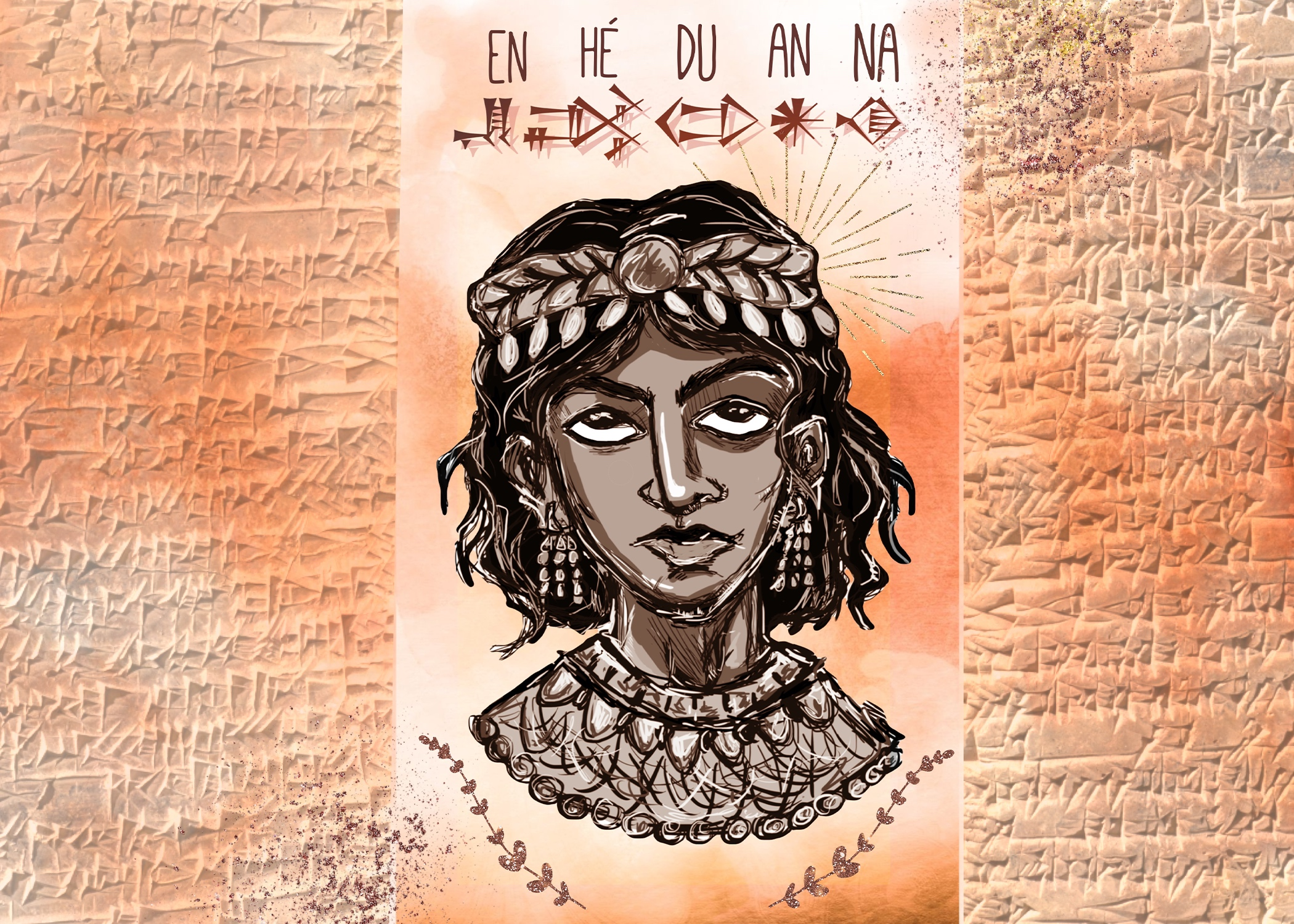 """Patricia Sargent's """"Power Women"""" names history's anonymous with Enheduanna of Sumer"""