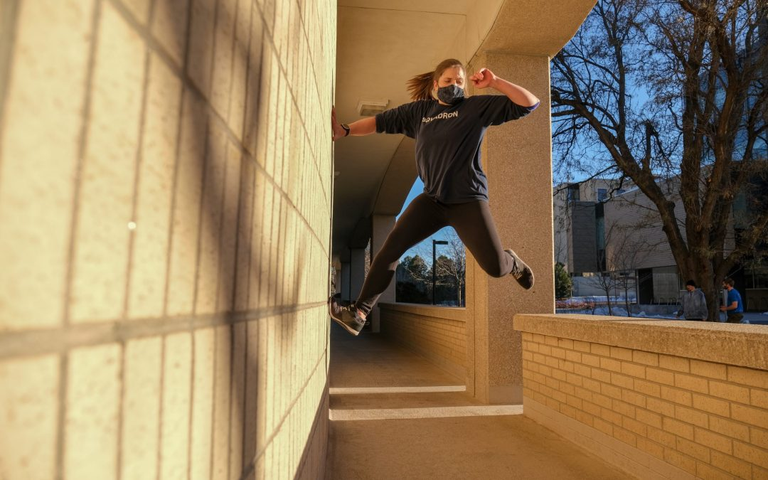 Denver's parkour scene is paving the way for female leaders