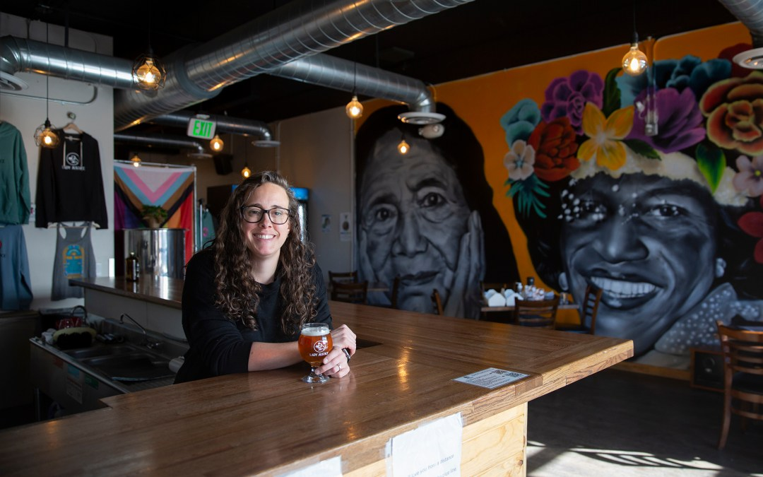 The women of Lady Justice Brewery are crafting a future for women and giving back to the community