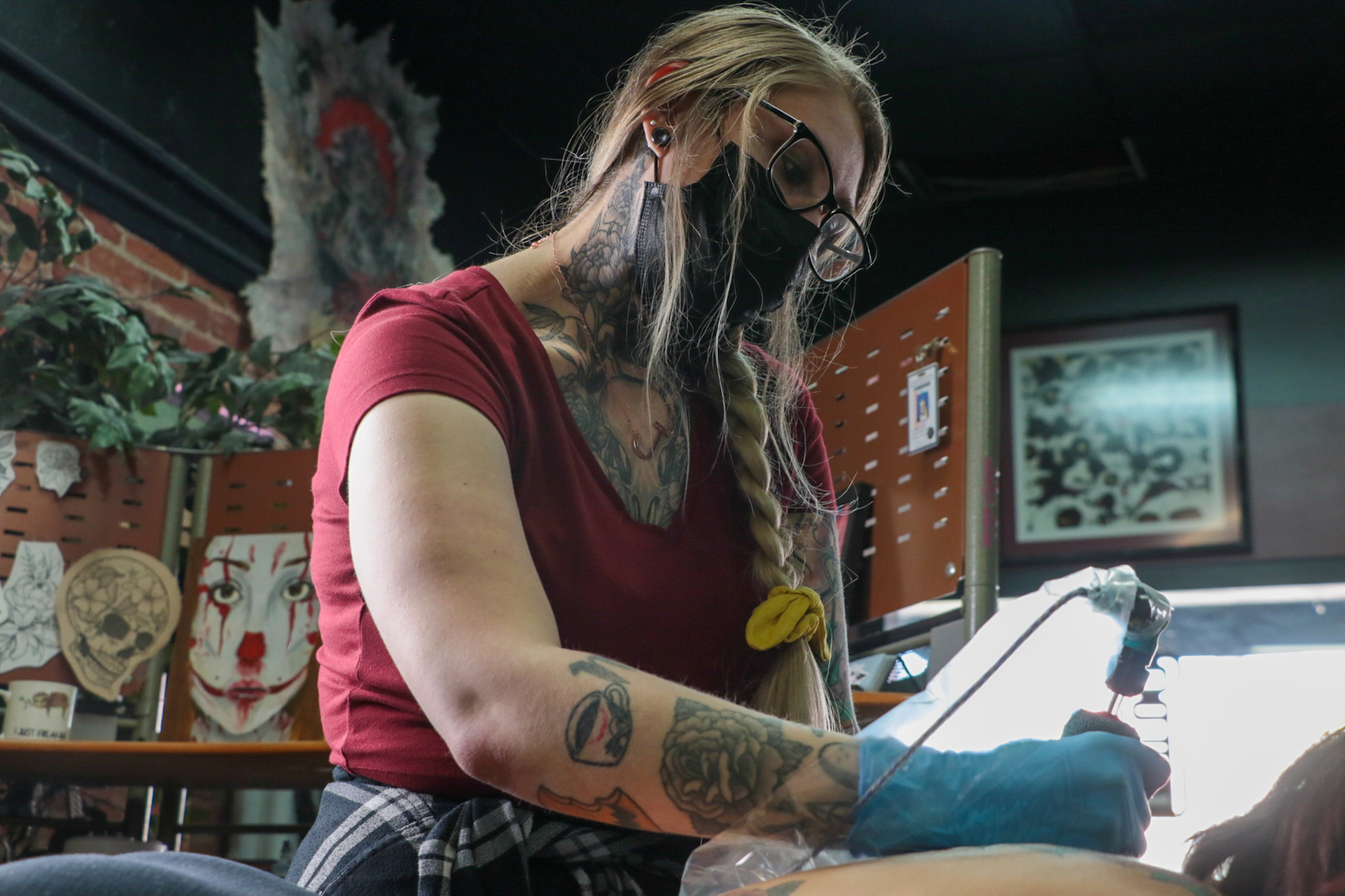 Jordan Jasinski on tattooing, mental health and her journey into the realm of fitness