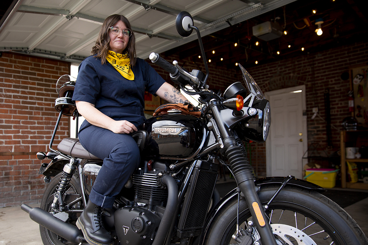 """""""I wanted to grow up and be that tough girl"""": Behind Gasoline and Us, the biker brand built for all"""