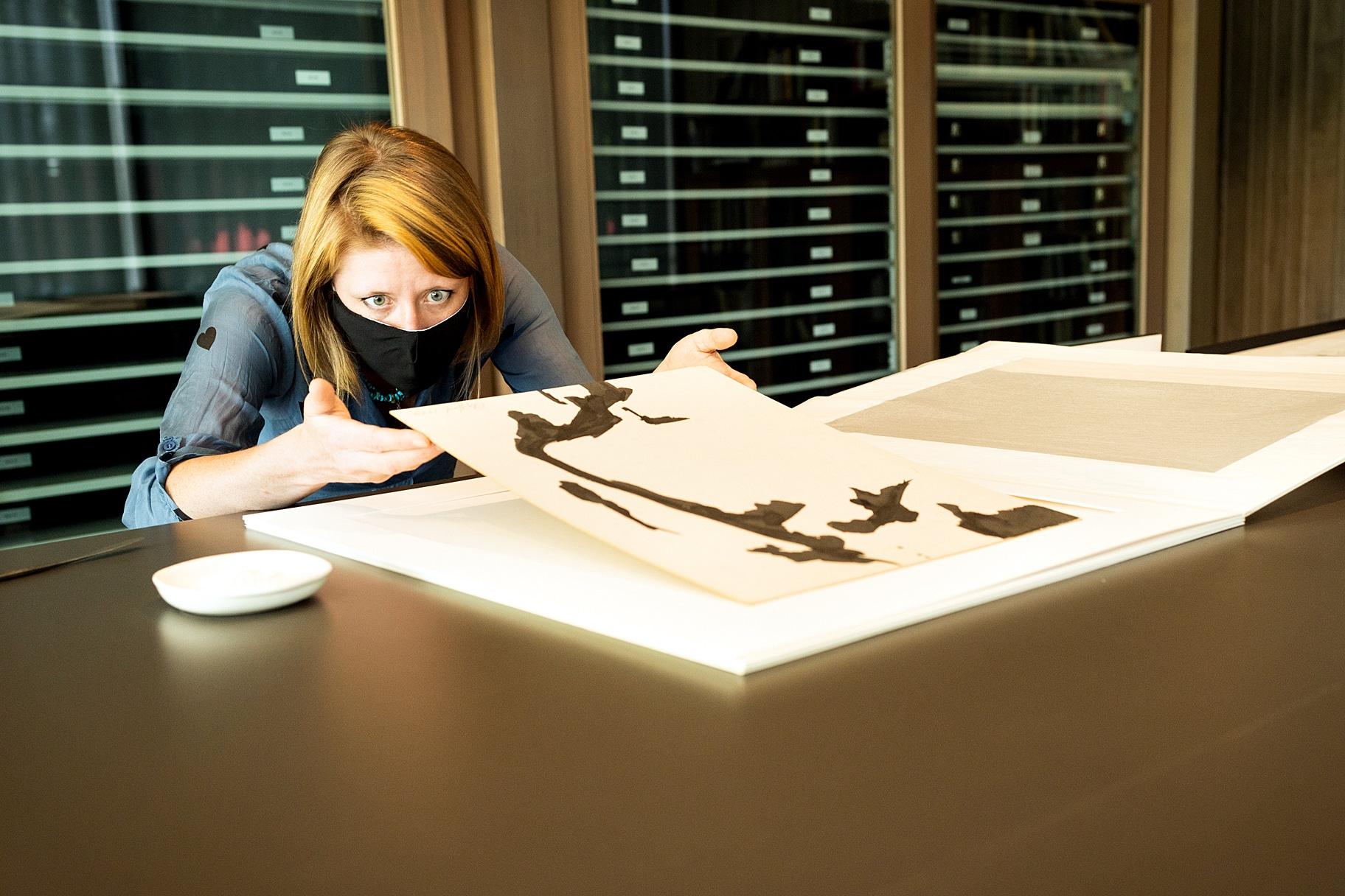 """The """"invisible women"""" behind artist Clyfford Still's work"""