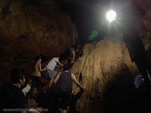 Spelunking in Sumaguing Cave