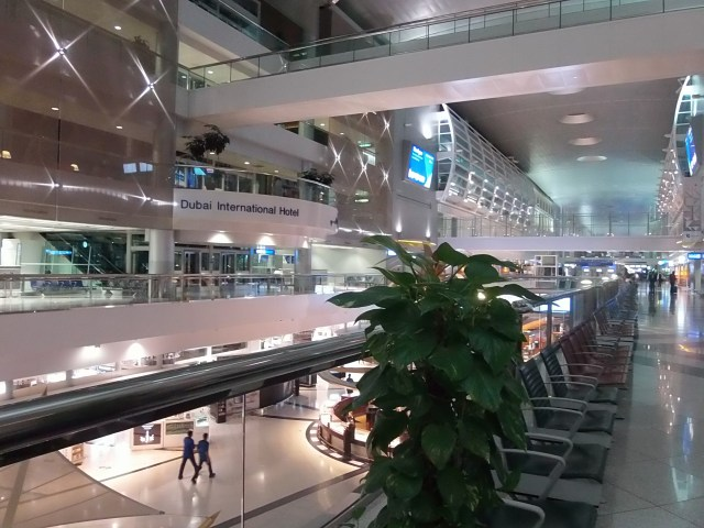 Beauitful Dubai International Airport