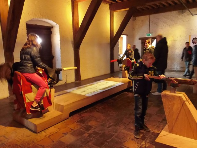 Castle Muiderslot is a child-friendly facility