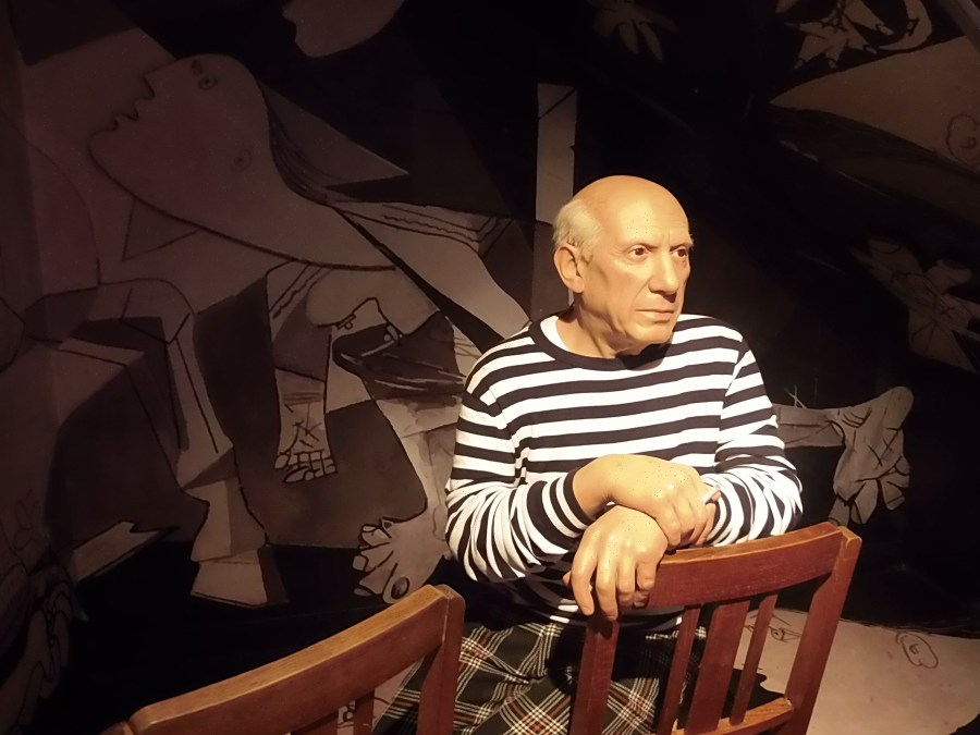 Pablo Picasso at Madame Tussauds