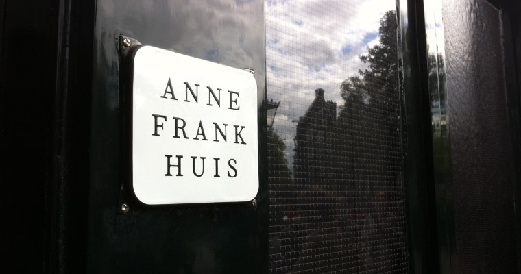 Face to face with Anne at Anne Frank House
