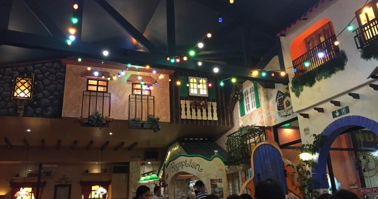 Dining in Gabby's Bistro, Dumaguete was a mix of up and down thumbs