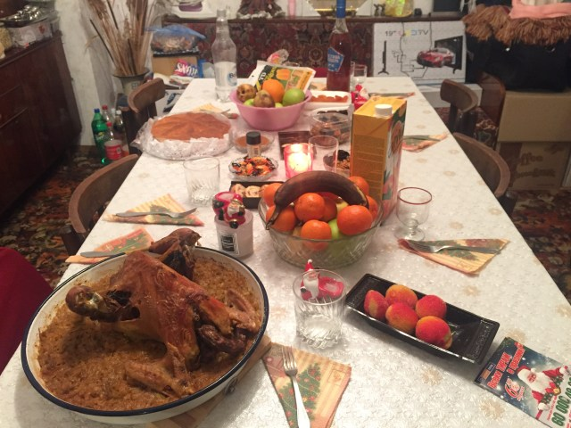 Foods during Christmas Eve in Bulgaria