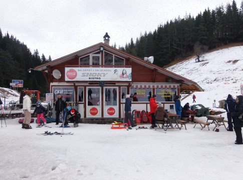 Pamporovo Ski Resort for winter activity
