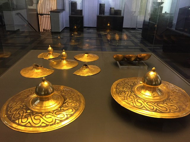 More gold items from the exhibit