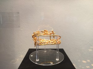 Crown from the Gold and Bronze Exhibit