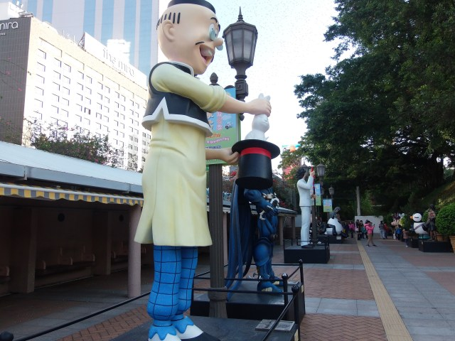 Avenue of Comic Stars in Kowloon