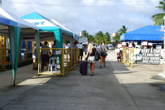 Siargao Airport which is also known as Sayak Airport