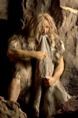 Uomo di Neanderthal (foto di Stefano Puzzuoli)