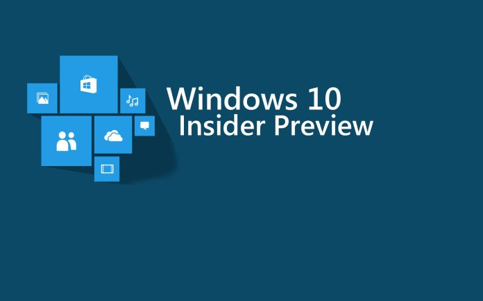 windows 10 insider