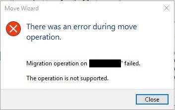 Hyper-V Error