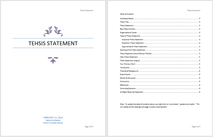15 free thesis statement templates ms office documents thesis statement template maxwellsz