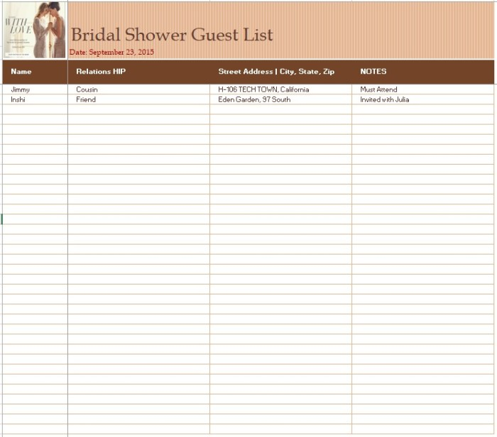 15 free bridal shower guest list templates ms office documents share this maxwellsz