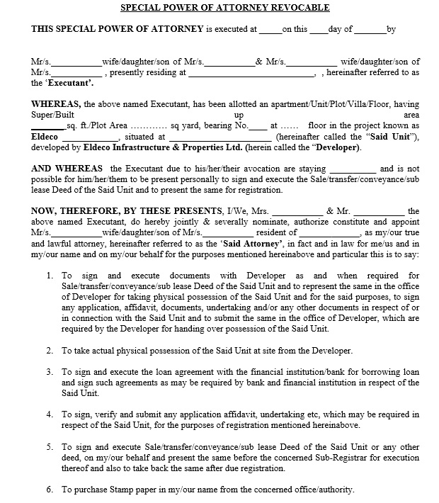 19  free general power of attorney agreement templates