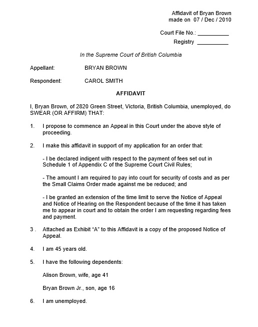 Here Is Preview Of A Free Sworn Statement Template Created By My Staff  Using MS Word.
