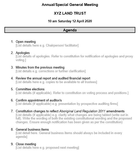 17  free team meeting agenda templates