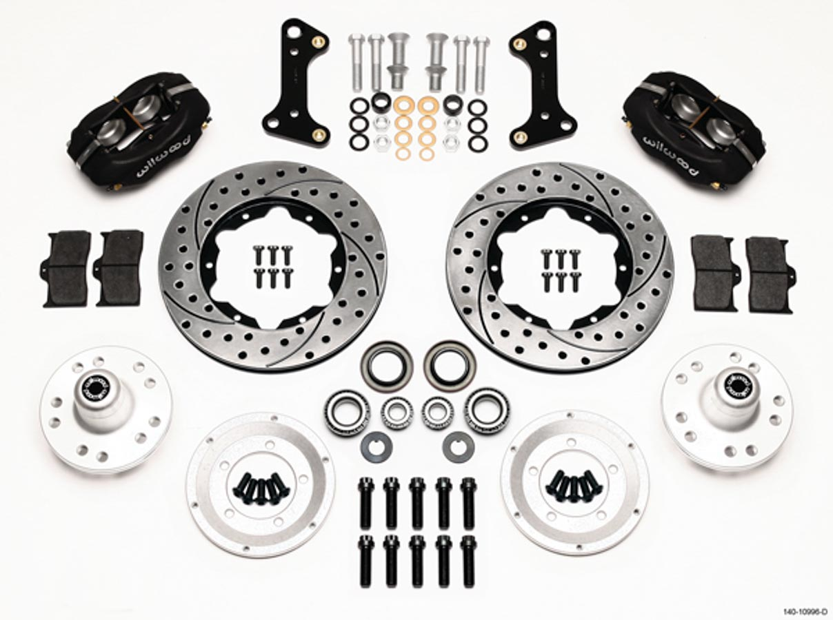 Wilwood Dynalite 4 Pstn Front Brake System Fits Gm A F X