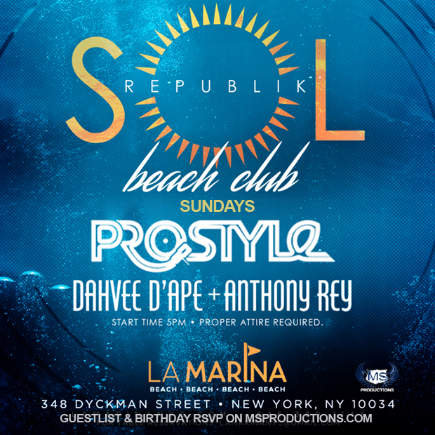 La Marina NYC party