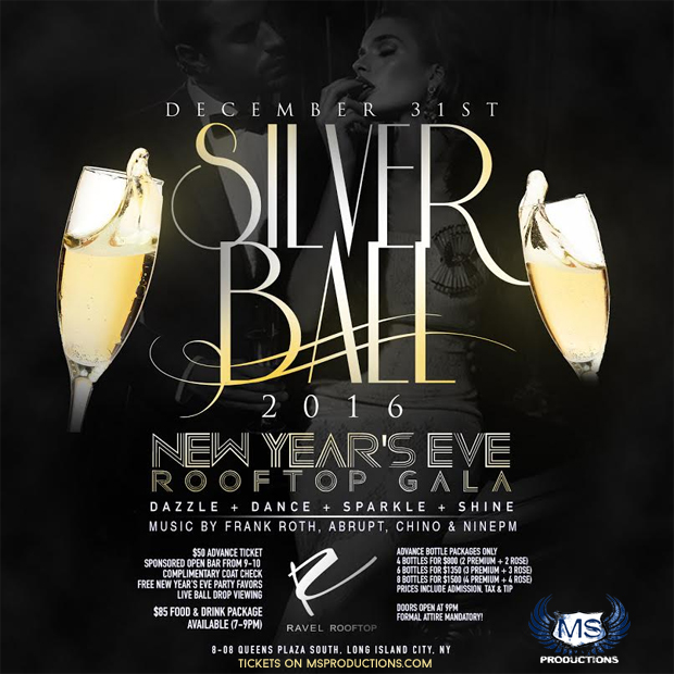 Ravel Rooftop New Year's Eve