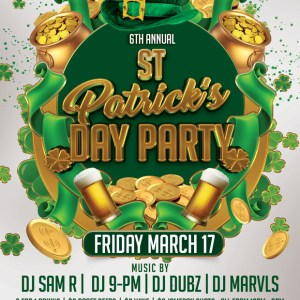 St Patrick's Day-Party