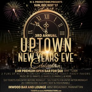 Uptown New Year's Eve Party
