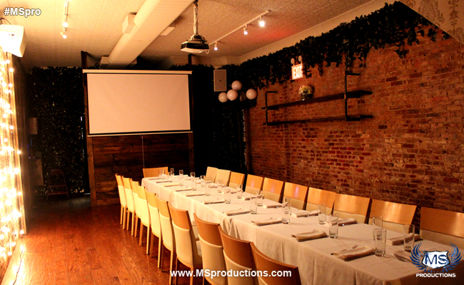 Queens Restaurant Private Party Room