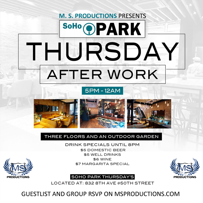 Soho Park NYC Bar and Lounge