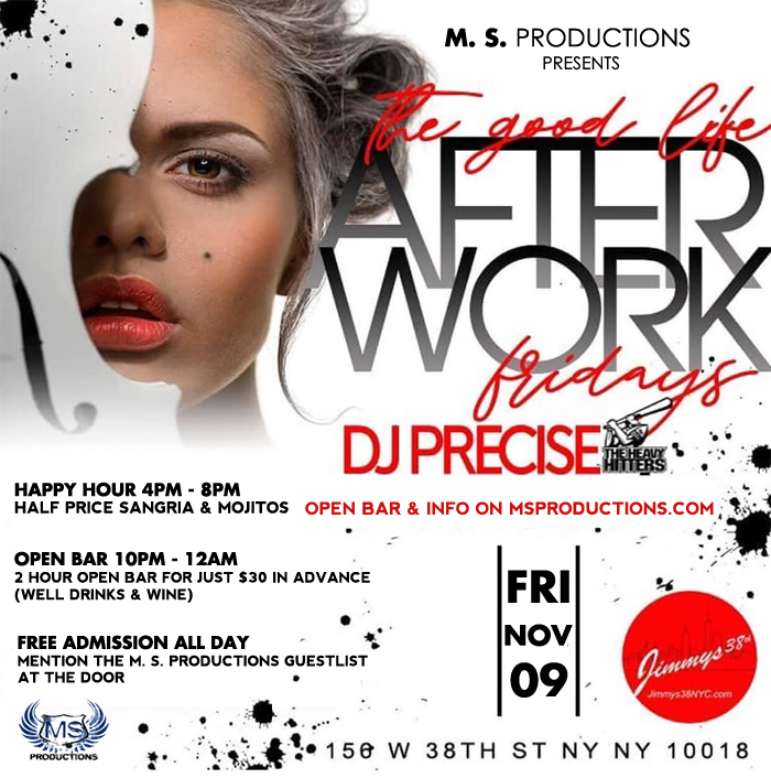 Jimmy's NYC Midtown Manhattan Bar and Lounge Afterwork Happy Hour