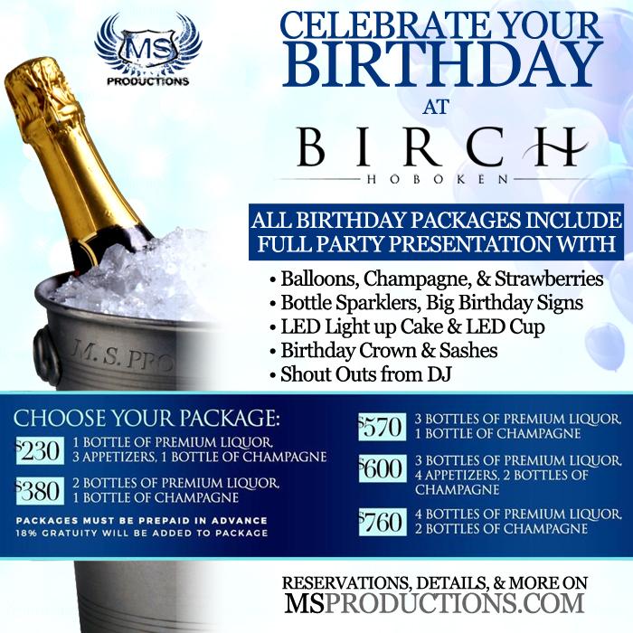 Birch Hoboken Bottle Specials