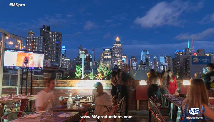 La Terraza Nyc Rooftop M S Productions
