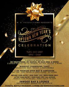 Inwood bar New Year's Eve