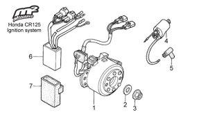 Honda Cr 125 Wiring Diagram  Wiring Diagram