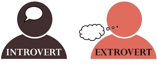 introvert - extrovert