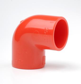 ABS 90° WInkel 25mm rot PIP-017