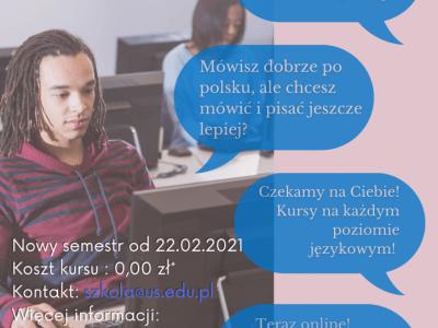 Free Polish language courses