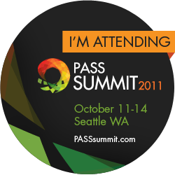 SQL PASS SUMMIT 2011