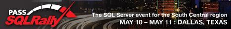 SQLRally Dallas 2012 Website