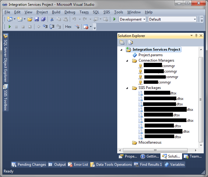 Ms SQL Girl   Editing Published SSIS Package in SQL Server 2012