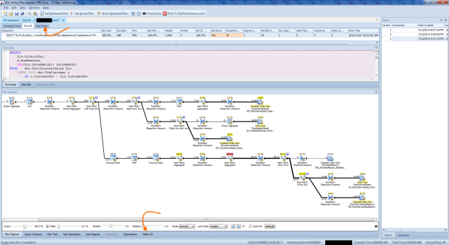 SQL Sentry Plan Explorer - Actual Execution Plan