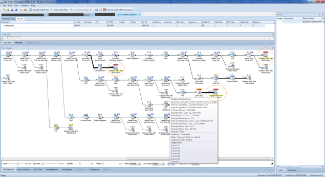 SQL Sentry Plan Explorer Anonymous Plan Diagram
