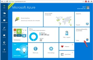 Azure SQL Database - Home Page